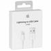 כבל אייפון 5/6 טעינה מקורי אפל MD818ZM/A  ל-iPad/iPod/iPhone