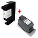 ראשי דיו תואמים שחור + צבעוני HP C51645A+C6578D