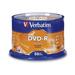 50 דיסקים לצריבה DVD-R 4.7GB X16 VERBATIM אריזת עוגה