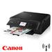מדפסת Canon משולבת Pixma TS6050 הכוללת חיבור לרשת Wi-Fi