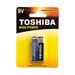 סוללה TOSHIBA 9V Alkaline