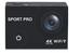מצלמת אקסטרים במארז אקרילי יוקרתי SPORT PRO DV8000 CROWN 4K WIRELESS