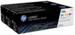 מארז 3 טונרים מקוריים צבעוני HP-128A CF371AM