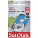 כרטיס זיכרון SanDisk Ultra Micro SDXC 64GB SDSQUNB-064G סנדיסק