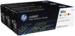 מארז 3 טונרים מקורי צבעוני HP 305A CE411-3 CF370AM