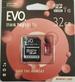 כרטיס זיכרון MICRO SD 32GB EVO קלאס 10 כולל מתאם