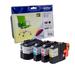 ערכת מילוי  דיו שחור וצבע מקורי  LC229XLBK- LC225XL- C/M/Y BROTHER